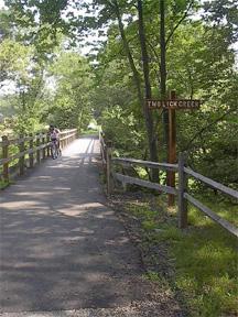 Bike path in Blairsville