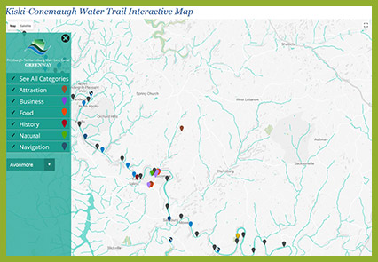 KC Water Trail Interactive Map